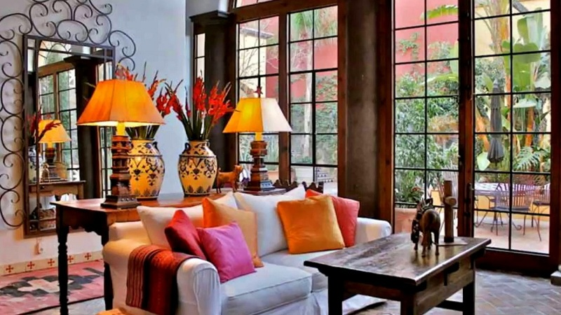 Ethnic Style In The Interior