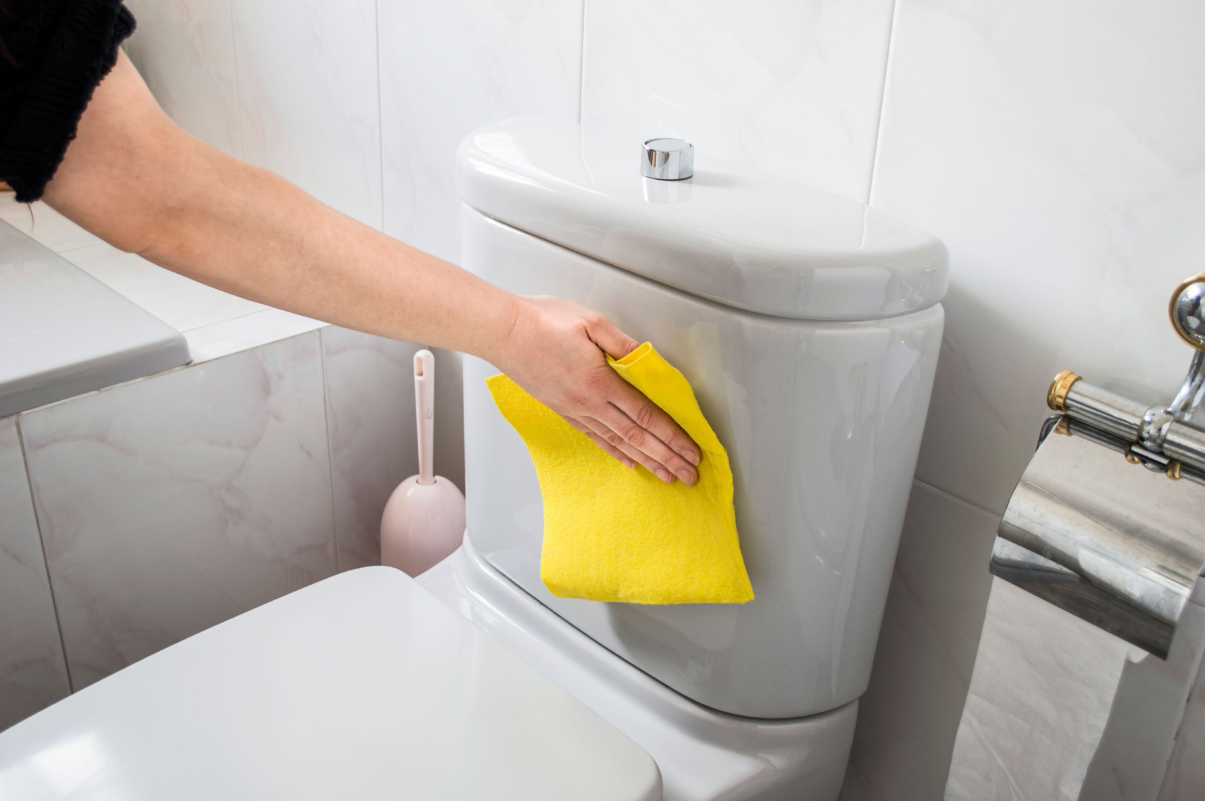 Clean your toilet constantly