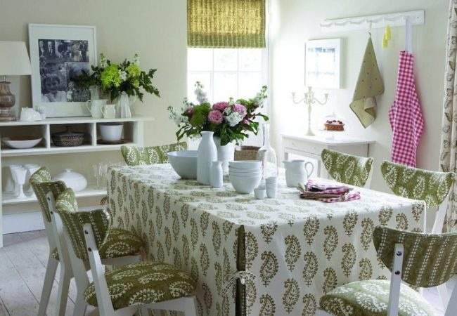 Design Of Classic Curtains For The Kitchen