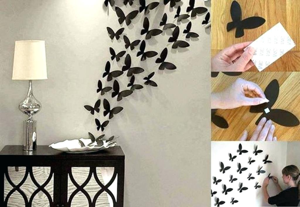 Ideas to decorate the wall with paper