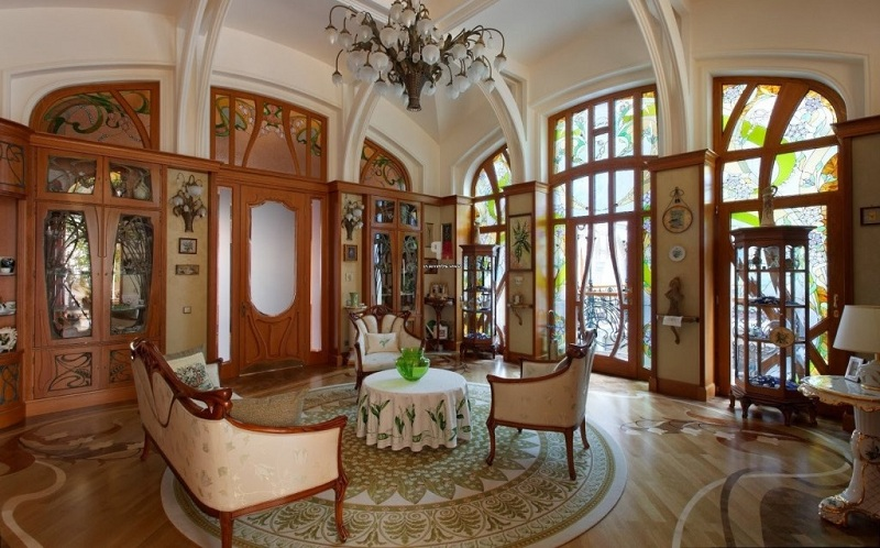 The Apartment In Art Nouveau Style