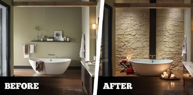 turn bathroom into a spa